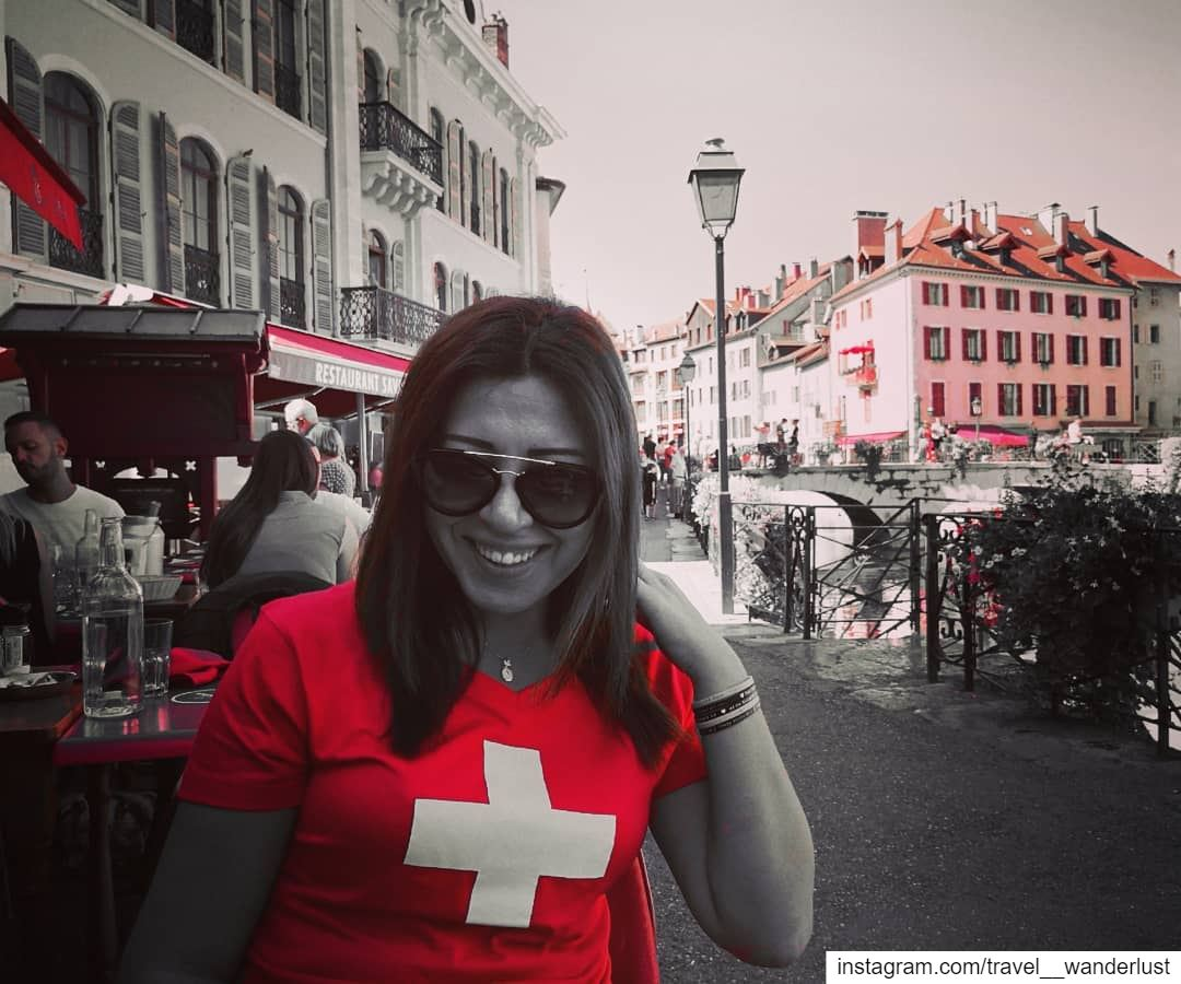 Because NOTHING else matters! SMILE Sep18--- TakeMeTo Alpes Annecy... (Annecy)