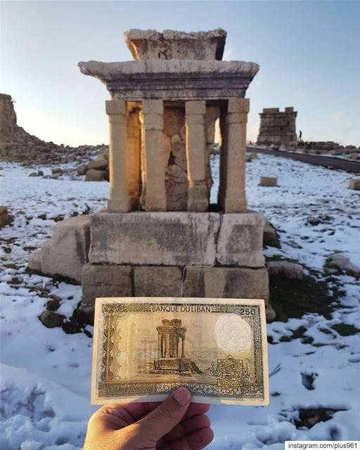 If you remember this banknote, you probably had an awesome childhood. ... (Faqra Ruins)