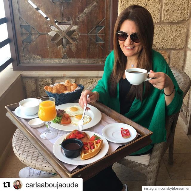 "Repost @carlaaboujaoude with @get_repost・・・Meet my ""péché mignon ""..."