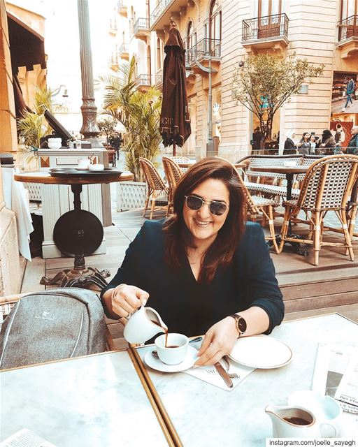 Coffee anytime! Way too much coffee. But if it weren't for the coffee, I'd (Downtown Beirut)