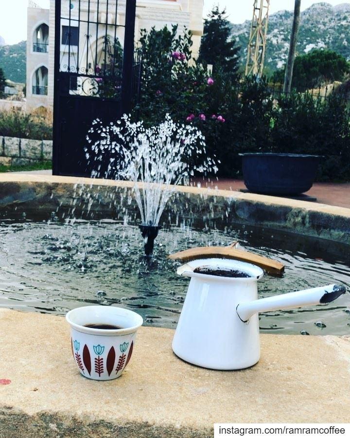 Peaceful morning from Douma Heavenly village... ramramcoffee ... (Douma, Liban-Nord, Lebanon)