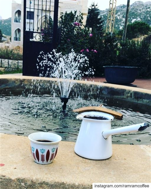 Peaceful morning from Douma Heavenly village... ramramcoffee ... (Douma, Liban-Nord, Lebanon)