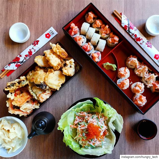 Let the good times roll........................... (Sushi Bento)