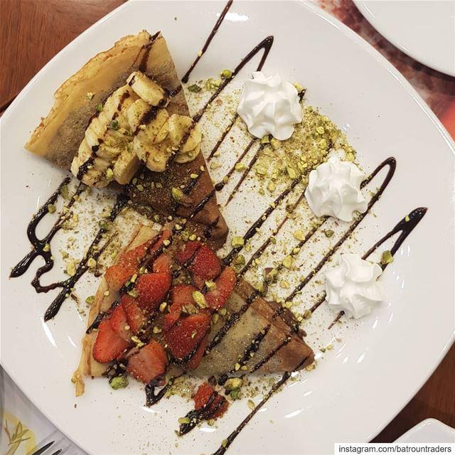 batroun restaurants @taigacafebatroun crepe chocolate dessert ... (Taiga Cafe Batroun)
