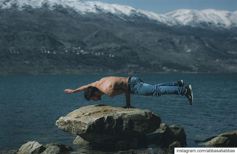 Always challenge yourself!........... abbasabbasphotography ... (Lake Qaraoun)