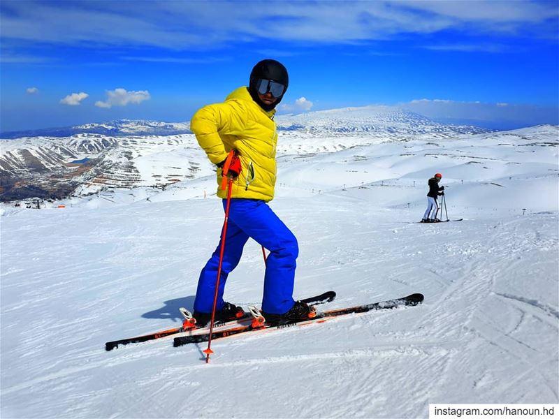 ski skiing skiing⛷ kfardebian mzaarskiresort lebanon ... (Mzaar Ski Resort Kfardebian)