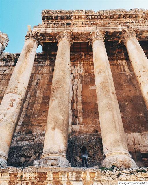 Gigantic proportions!............... instagood baalbeck webstapick... (Baalbek , Roman Temple , Lebanon)