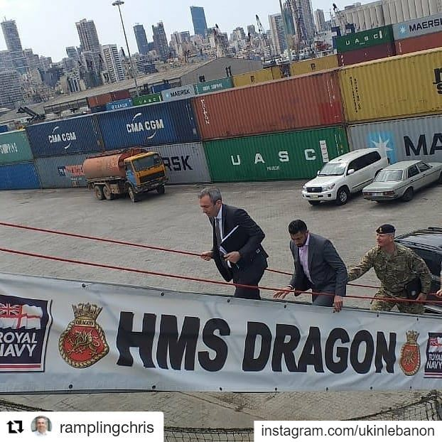 Repost @ramplingchris (@get_repost)・・・Boarding HMS Dragon. What a ship:...