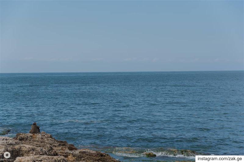 Contemplating Serenity beirut lebanon leb sea middleeastern ... (Beirut, Lebanon)