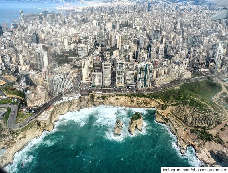 Beirut from the Sky...By Ghassan_Yammine beirut lebanon ... (Beirut, Lebanon)