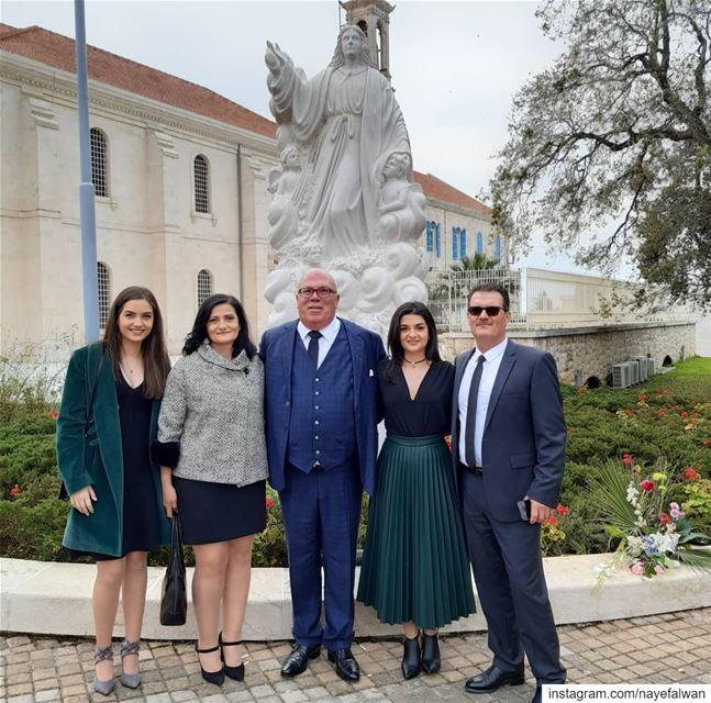 The Unveiling of Our Lady statue in Bkerke___ nayef_alwan sculptor art... (الصرح البطريركي بكركي)