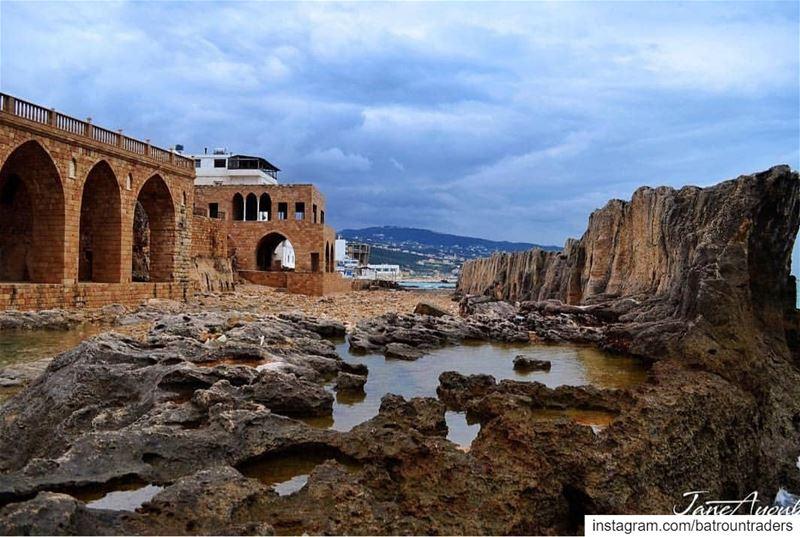 batroun البترون_سفرة phoenician wall heritage legacy batrounbeach ... (Batroûn)