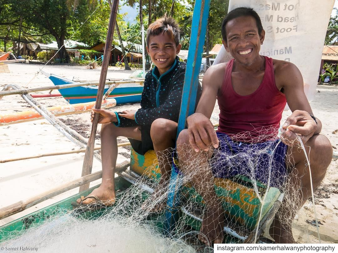 Smile ! You're in the philippines ... shot in sabang philippines ...