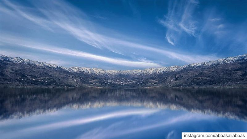 Epic view from Qaraoun Lake!................ (Lake Qaraoun)