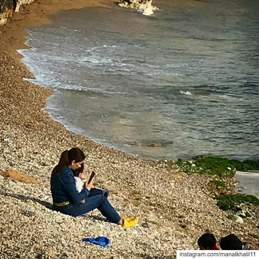 babyilai love dayout beach sea afternoon lebanon waves ...