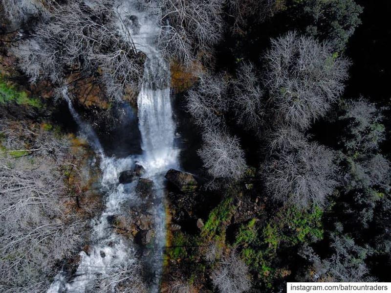batroun kfarhelda village waterfall nature river البترون_سفرة ... (Kfar Helda)