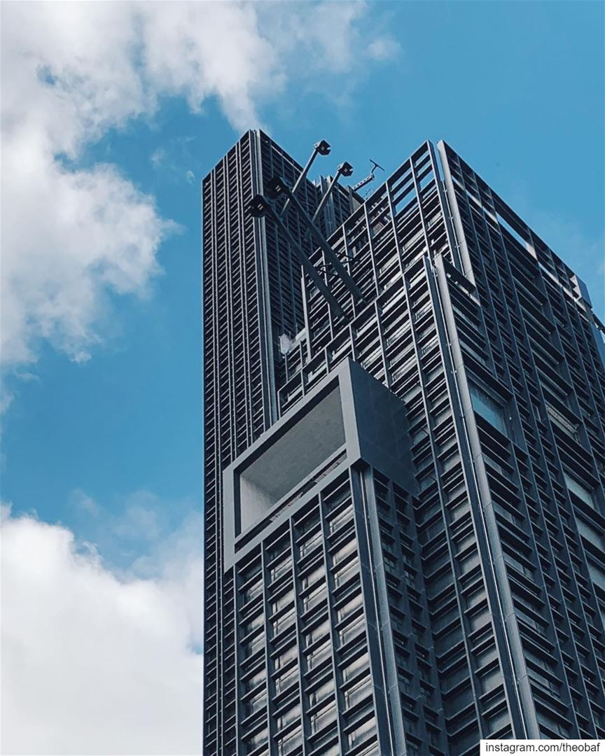 """They call it Sky""""scraper"""", what do you call it? Quasar Tower / DW5 ...... (El Saifi, Beyrouth, Lebanon)"""