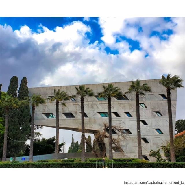 architecture architecturephotography building modern architecture... (American University of Beirut (AUB))