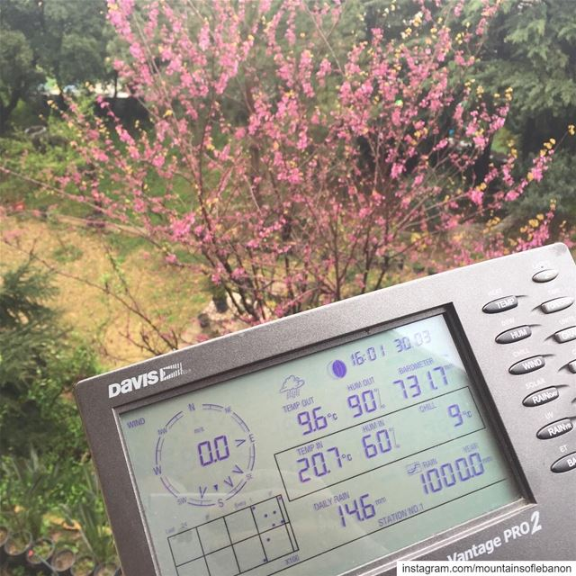 There is a live Weather Station in Ballouneh, Kesrwan, alt. 705m, have... (Ballouneh, Mont-Liban, Lebanon)
