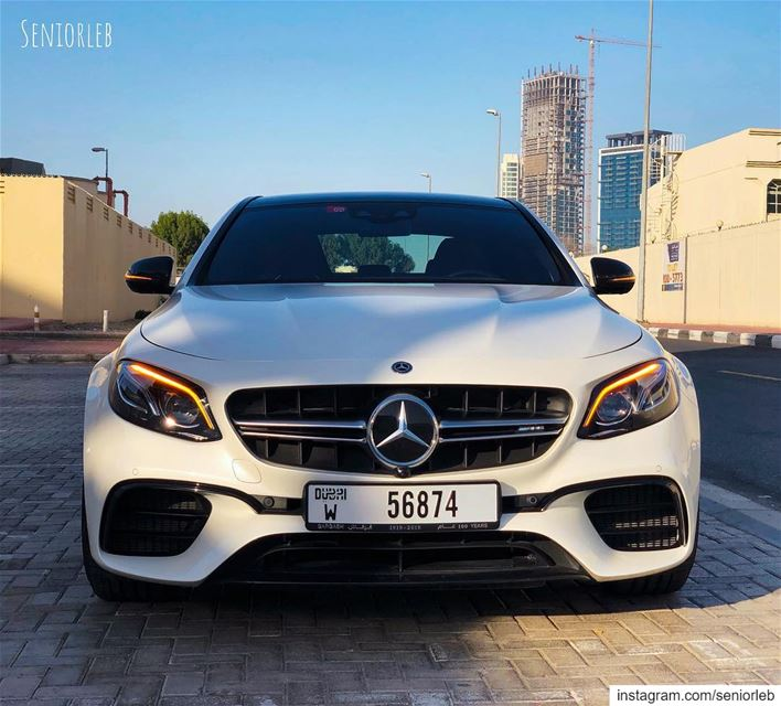 Mercedes Benz AMG E63 S 4matic + the perfect car for all time. This is the... (Dubai, United Arab Emirates)
