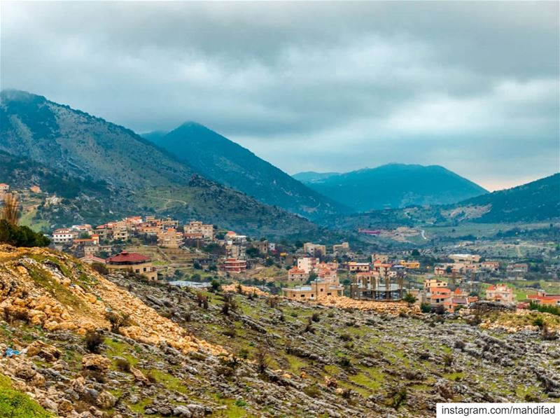 . Nature Lebanon Southern pysglb cloudy ig_shotz Landscape day... (Kfar Hoûné, Al Janub, Lebanon)