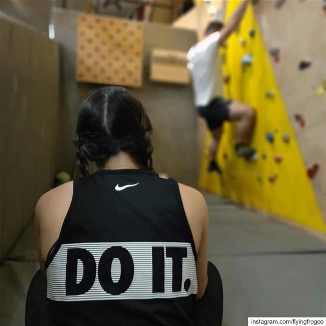Strength, flexibility, concentration and rush all in one sport. Start rock...
