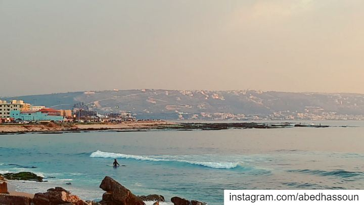 Let's surf 🏄🏻♂️🏄🏻♀️............. LiveLoveTripoli ... (Tripoli, Lebanon)