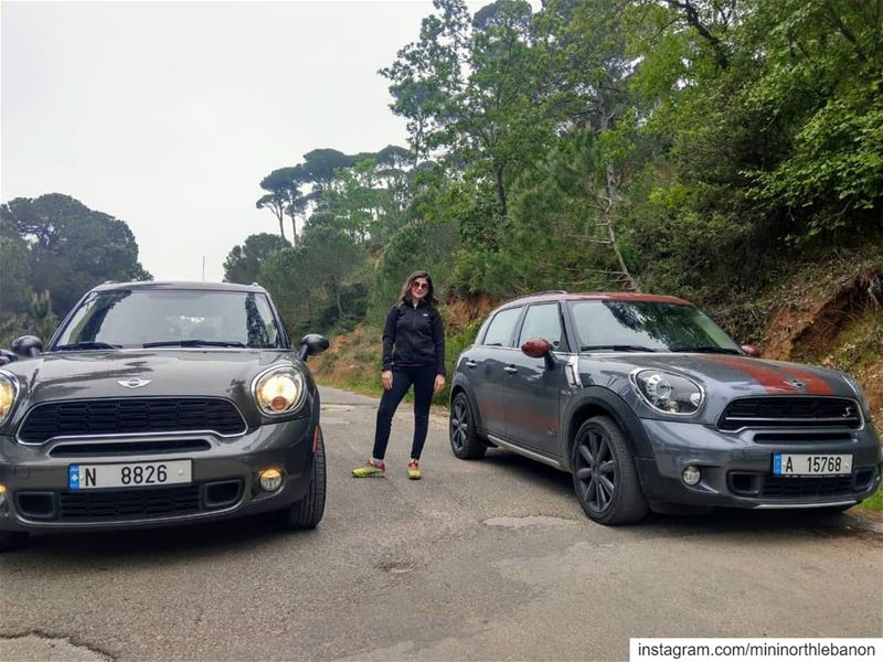 Explore nature with the ALL 4 minicountryman mini minicooper ... (Saïda, Al Janub, Lebanon)