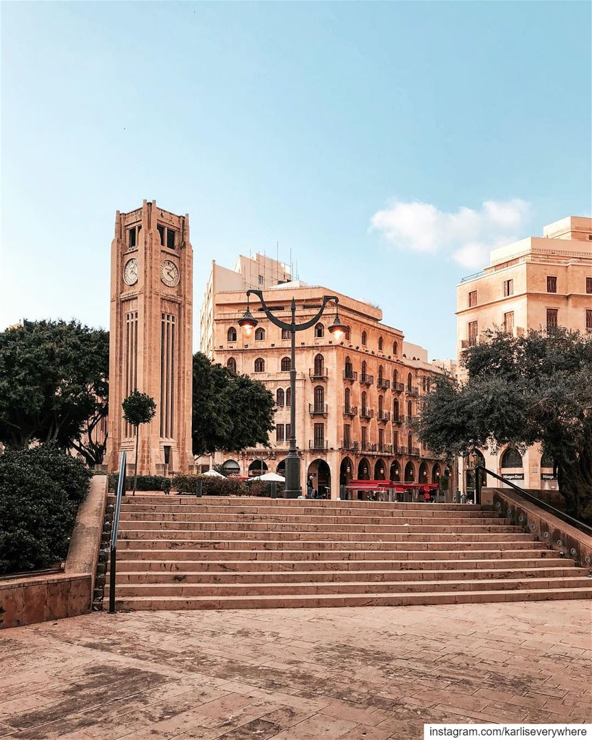 Place de l'Etoile ⭐️ Beirut shotoniphone... (Beirut Central District)