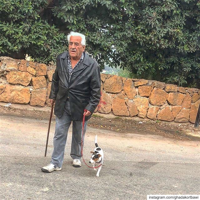 Friendشب..... dogismansbestfriend morningwalk dailyencounter ... (Baabda District)