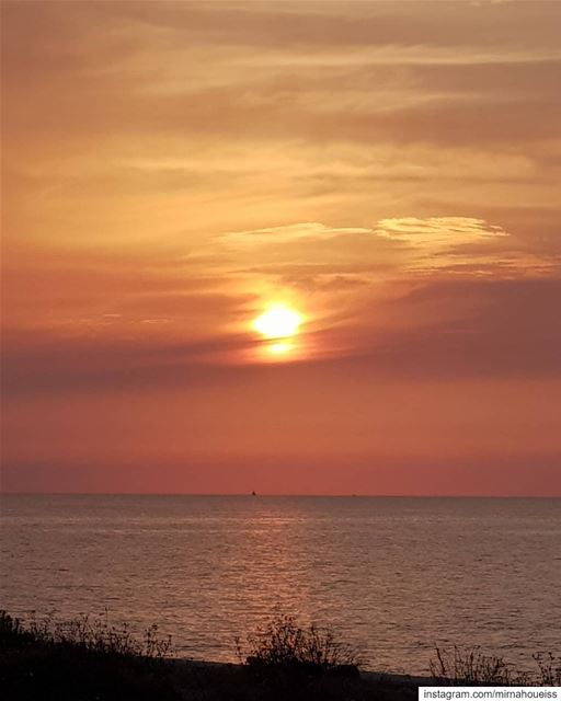Chasing Sunset 🌅 sunset chasingsunsets beirut nofilter ... (Beirut, Lebanon)