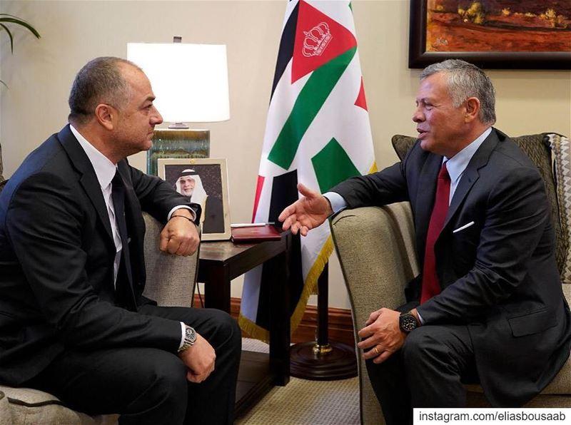شكرا لجلالة ملك الأردن عبدالله الثاني على حسن الاستقبال والضيافة خلال مشار (Jordan)