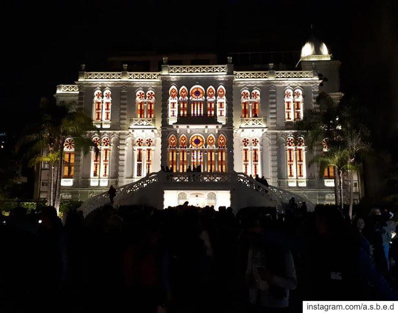 Sursock Palace(La nuit des musées)... lebanon palace museum nights...