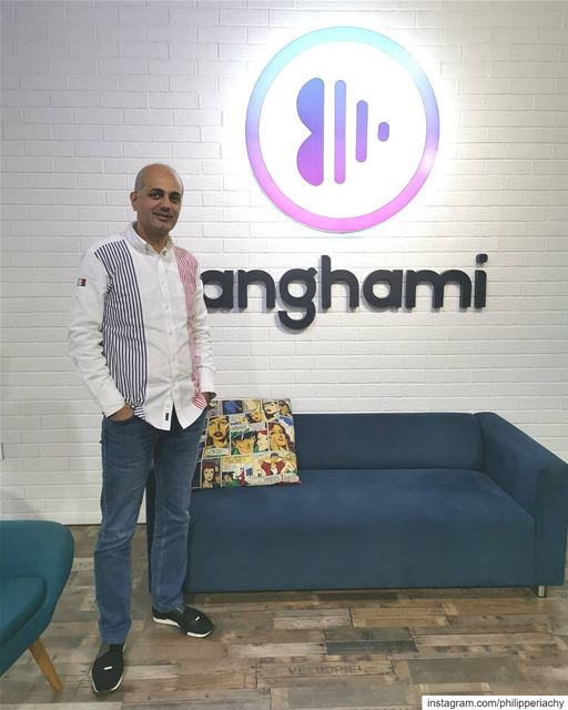 Anghami office.... anghami app bestapplication song digital radio... (Anghami HQ)