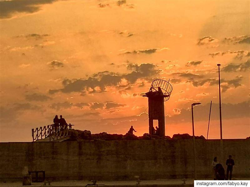 ____________Batroun ______Lebanon sunset lebanon batroun skylovers... (Batroûn)