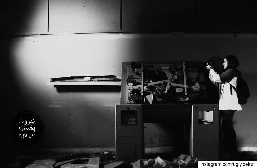 🇱🇧 Urbex team in action taking photos - Studio Baalbak ( Black and White... (Sinn Al Fil, Mont-Liban, Lebanon)