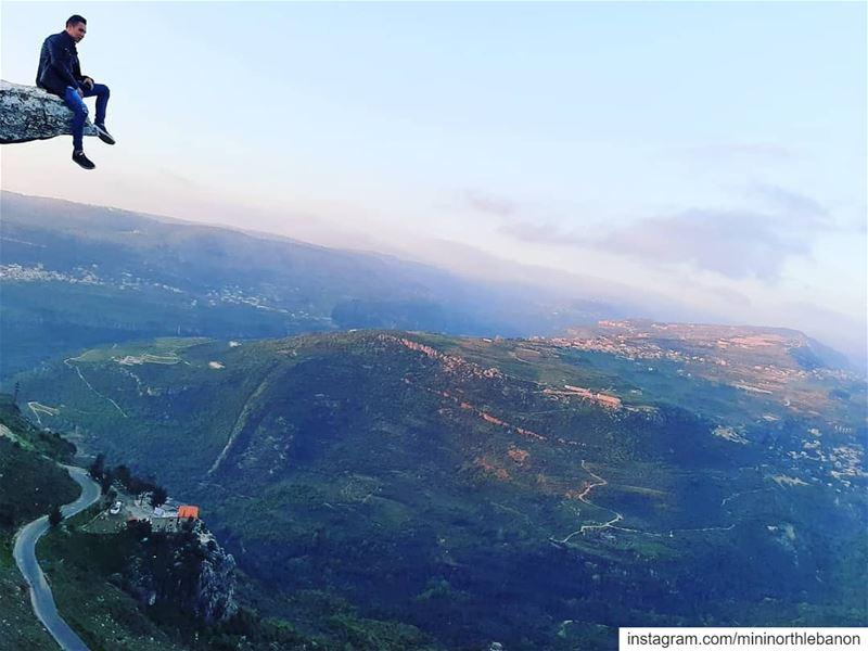 Brave heart 🤘 @kerbagedaniel mininorthlebanon member lebanon ... (Chouf)