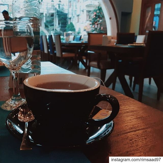 'Tea time🍵'••••••• lebanon instalebanon south nabatieh ... (Abajour restaurant مطعم أباجور)