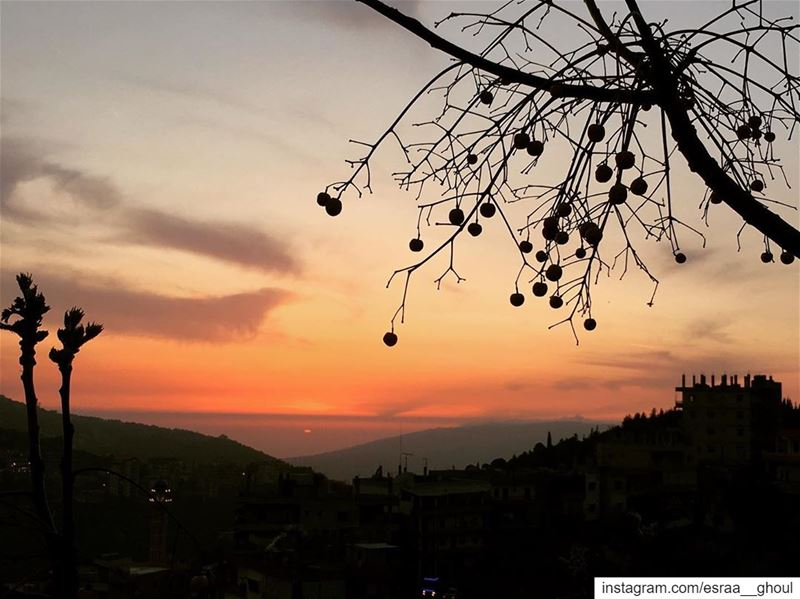 غروب اليَوم..✨ Sunset  Today  OurLovelyLebanon  Wearelebanon  ... (Bakhoun, Liban-Nord, Lebanon)