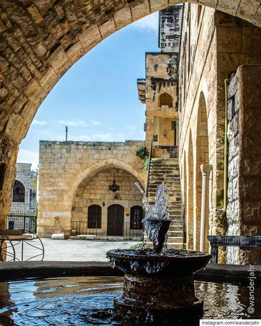 Timeless and Eternal.💙. lebstory lebanontraveler lebanonbyalocal ... (Baaqlîne, Mont-Liban, Lebanon)