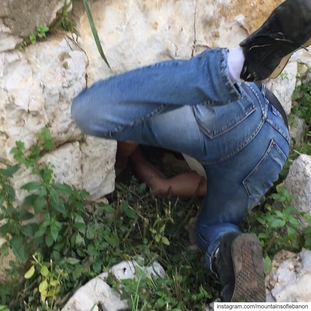 Treasure Hunting... Would you go for a few acrobatic moves to find the... (Ballouneh, Mont-Liban, Lebanon)