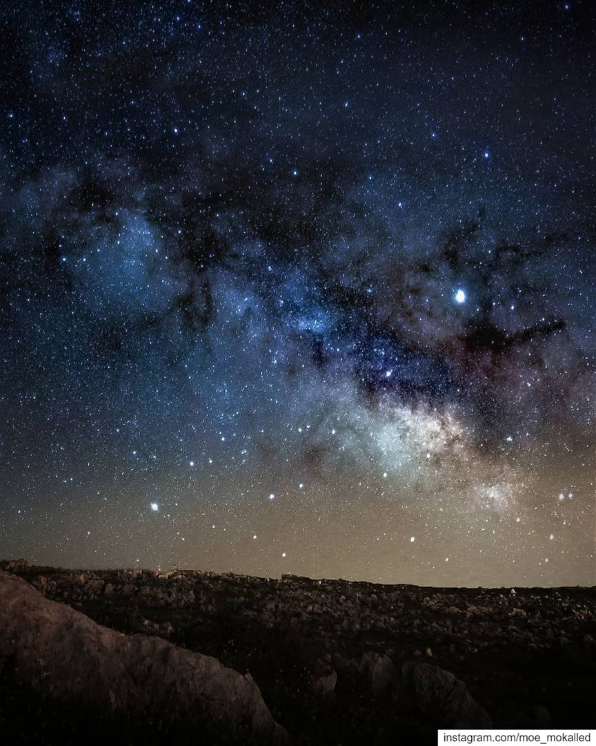 120 photos stacked for the sky to reduce the high level of light pollution... (Sahl el Maïdané)
