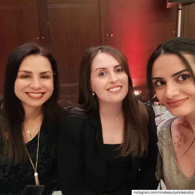 With beautiful girls @jocelynealaawar @gracytta @hiltonbeiruthabtoorgrand... (Hilton Beirut Habtoor Grand)