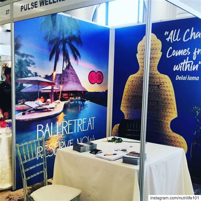 Come and visit us today at the Health and Wellness expo in Beirut, Seaside... (Seaside Pavilion)