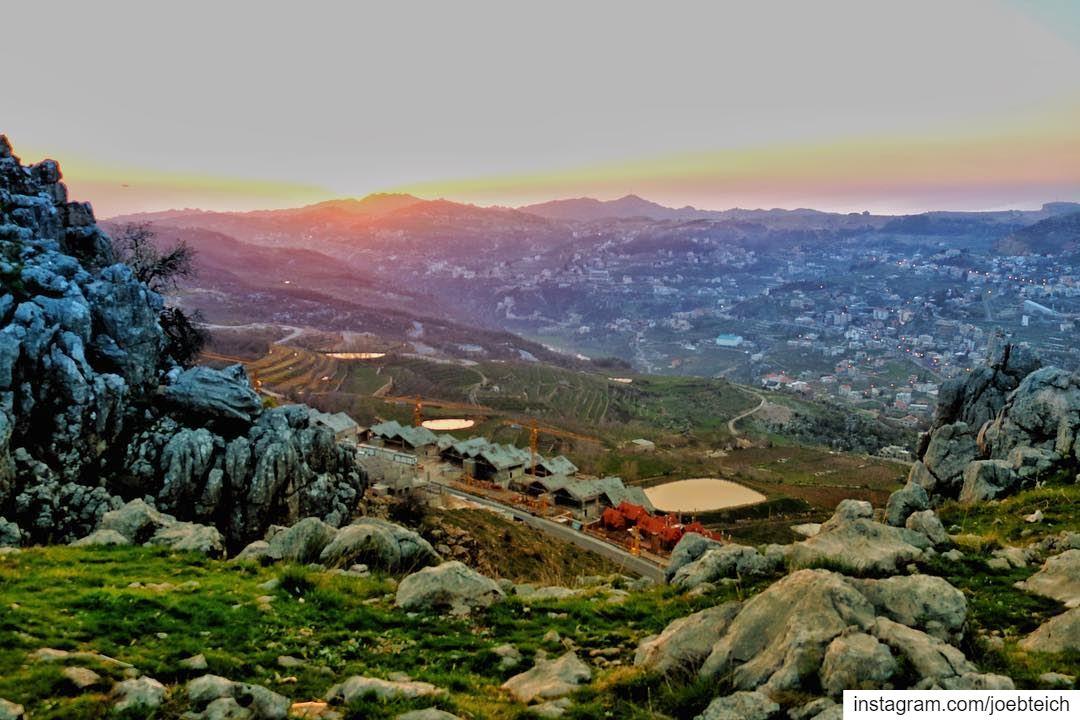 Every sunset is an opportunity to reset🌅 livelovebeirut ig_lebanon... (Kfardebian, Mont-Liban, Lebanon)