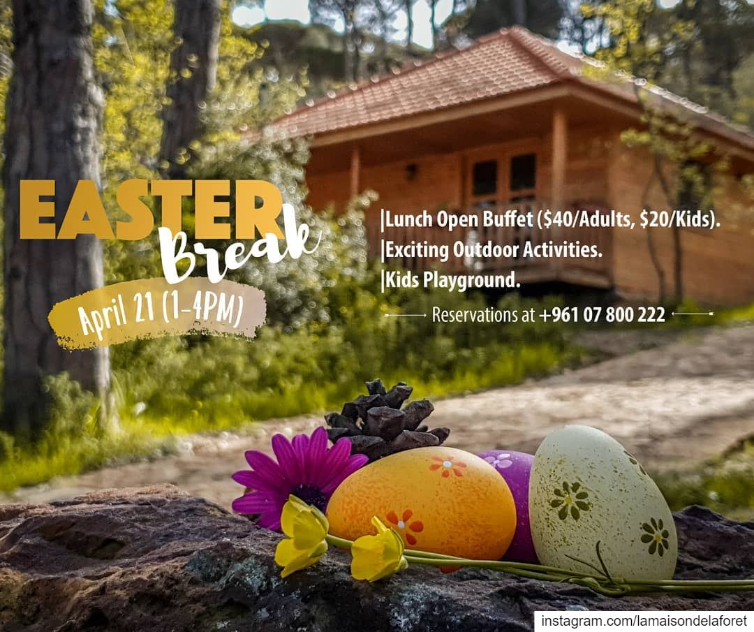 Easter is the perfect excuse to steal your loved ones for a quick Forest...