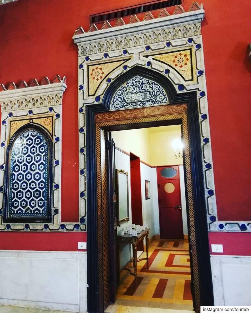 When art meets tradition and beauty meets history! sursock lebanonart ... (Villa linda Sursock)