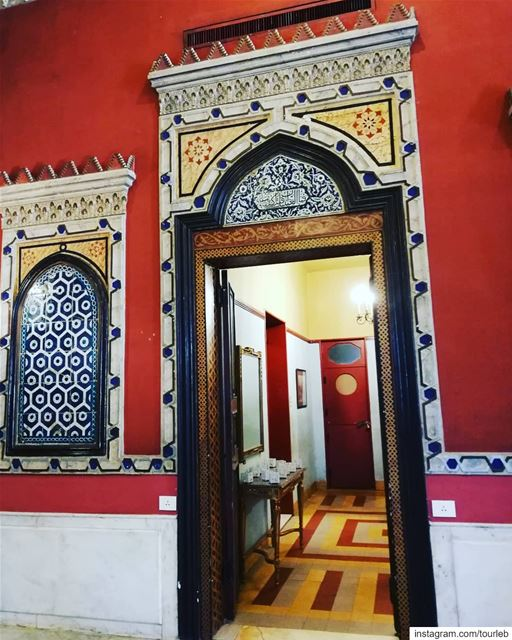When art meets tradition and beauty meets history! sursock lebanonart ... (Villa linda Sursock)