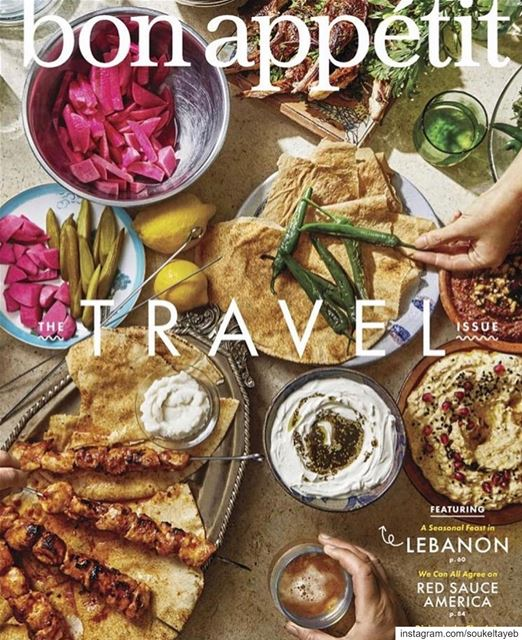 We made the cover of @bonappetitmag ! A great recognition for Lebanon and...