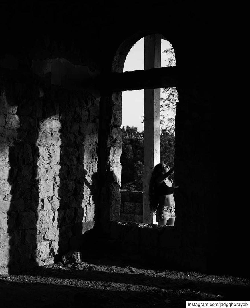 ~ Abandoned ~... composition shadow shadowplay shadowhunters ... (Beirut, Lebanon)